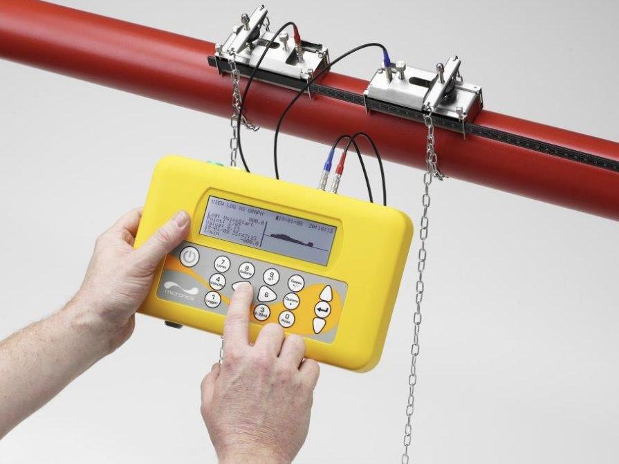 Portable flowmeter
