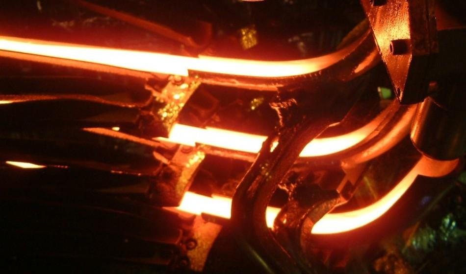 Smeersysteem flowmeter glasfabriek O-I