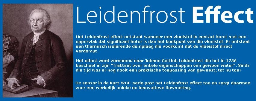 Intercontrol - Kurz flowmeter - Leidenfrost effect