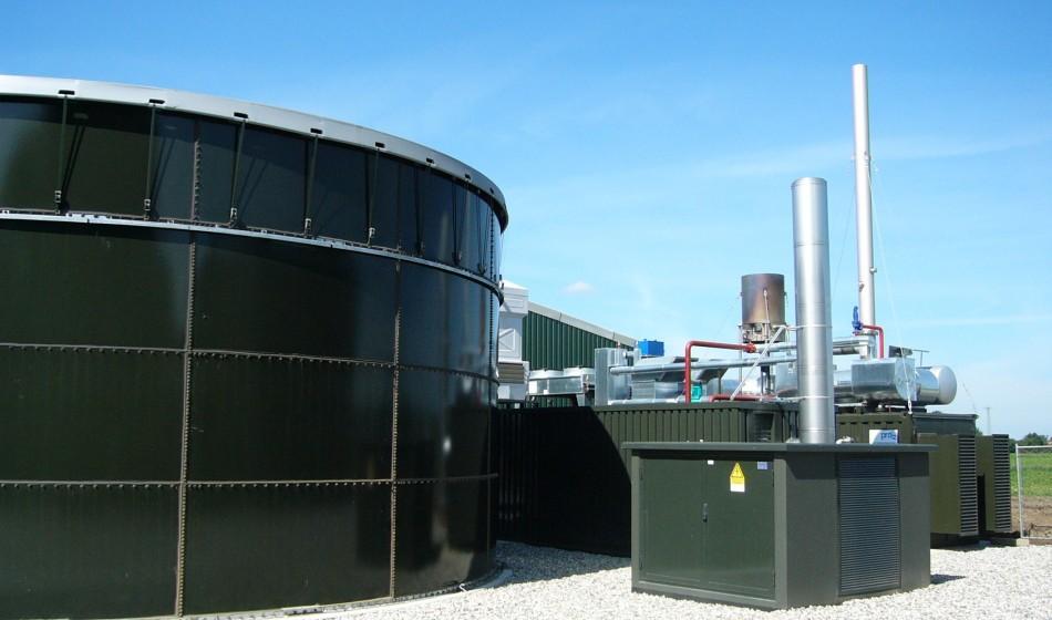 Intercontrol flowmeter biogas installatie