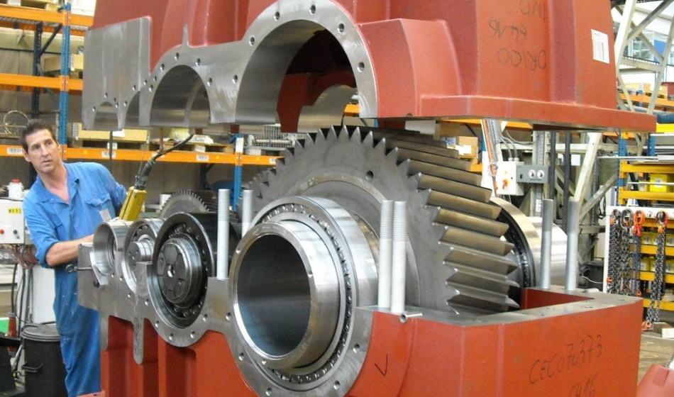 Montage-tandwielkasten-Hansen-Industrial-Transmissions-Productie-Antwerpen-I