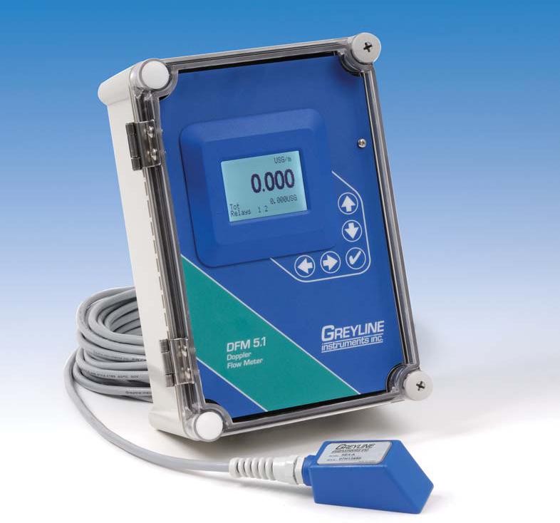 greyline doppler flowmeter
