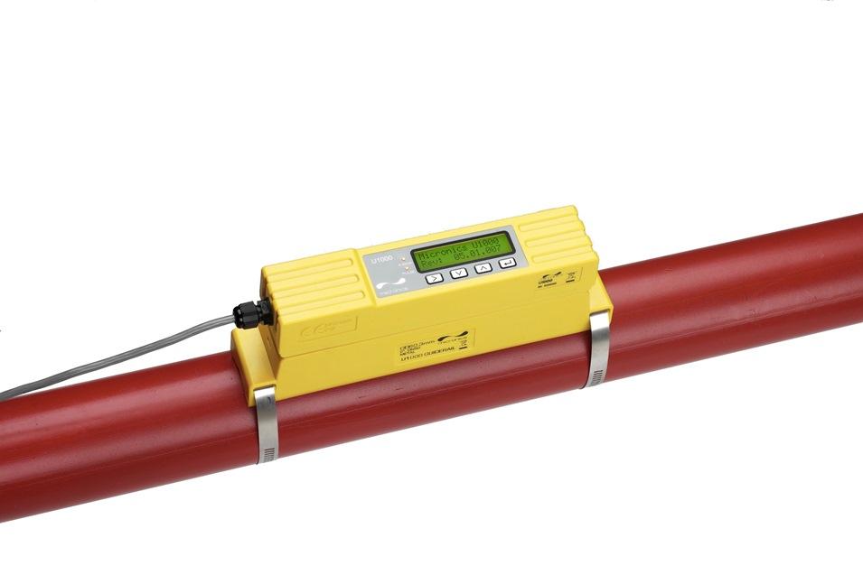 Intercontrol Portable flowmeter Micronics U1000