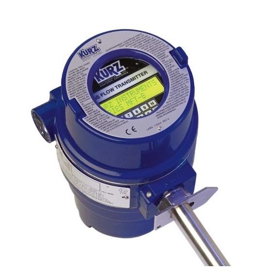 Kurz debitmetre thermique pour biogaz