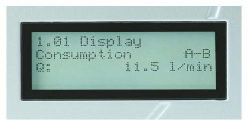KRAL BEM display brandstofverbruiksmeting 2