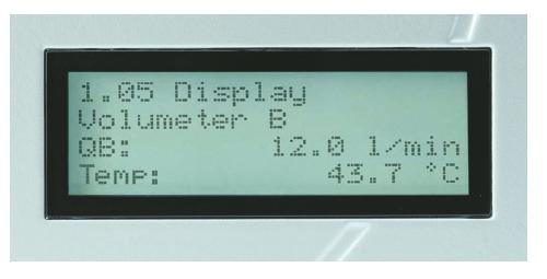 KRAL BEM display brandstofverbruiksmeting