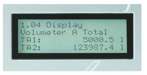 KRAL BEM display brandstofverbruiksmeting TOTAAL