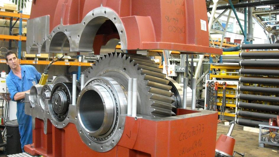 Débitmètre régule l'huile dans les réducteurs -Hansen Industrial Transmissions Antwerpen