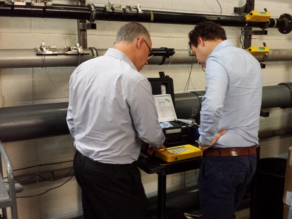 Micronics flowmeter training Intercontrol