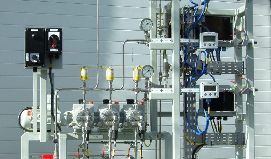 Débitmètre pour l'injection d'additifs chimiques - Intercontrol