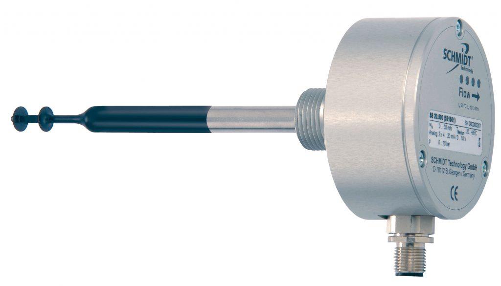 Schmidt SS 20.500 biogas flowmeter met gecoate sensortip