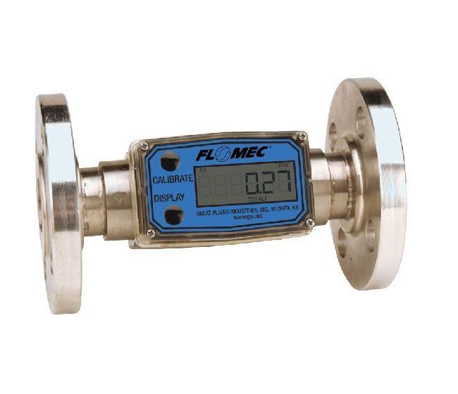 Flomec - Turbine flowmeter - G2 serie - RVS ANSI flanges
