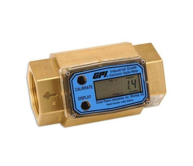 Flomec - Turbine flowmeter - G2 serie - messing brass
