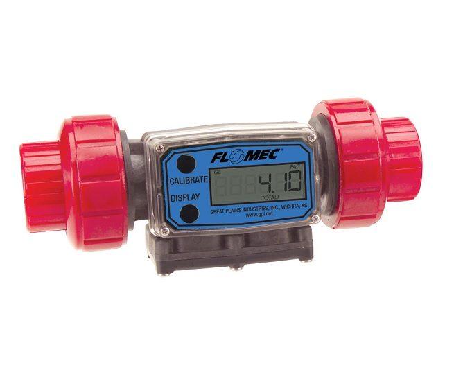 flomec turbine flowmeter G2 PVDF