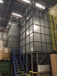 inhoud silo meten laser niveaumeter Intercontrol