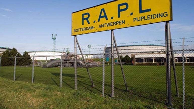 olie detectie Rotterdam Antwerpen pijpleiding RAPL