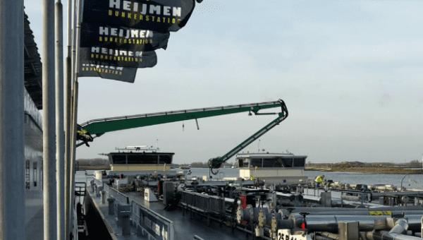 niveaumeetsysteem Intercontrol - bunkerstation Heijmen