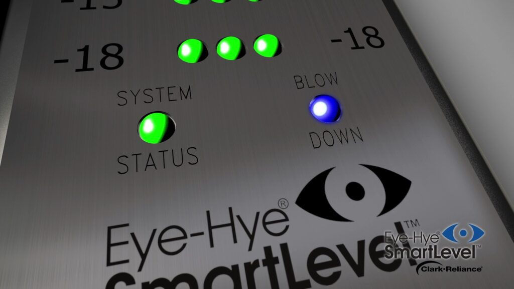 stoomketel - eye-hye smartlevel - blowdown LED
