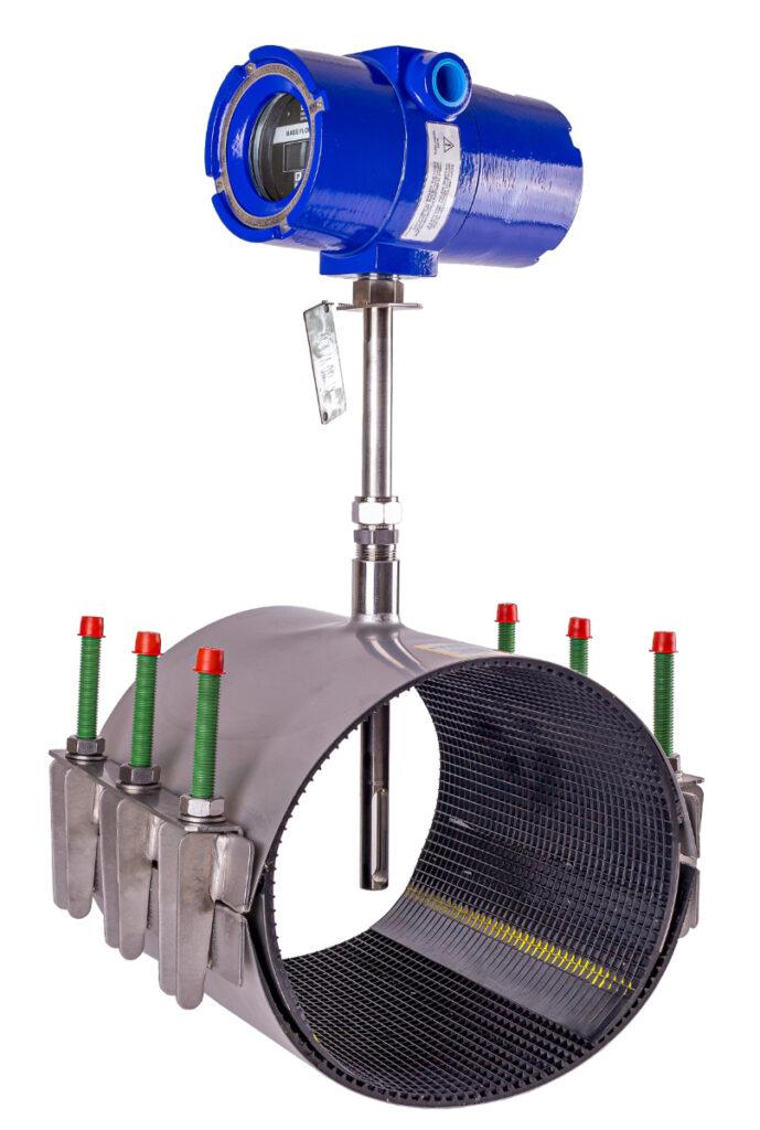 Kurz WGF flowmeter in zadelstuk