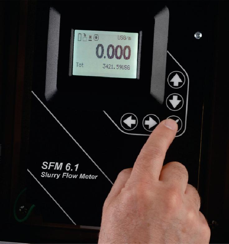 Slurrie Flowmeter Greyline-SFM-6.1 intercontrol detail-1